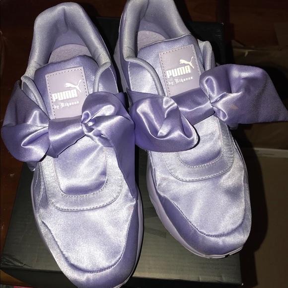 d3b70370b973 FENTY Rihanna Puma Bow Sneaker 8.5 Lilac 🎉NEW🎉